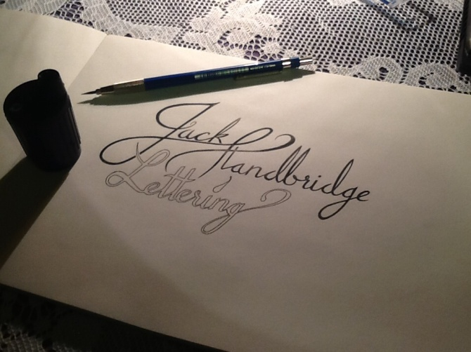 Jack Standbridge Lettering