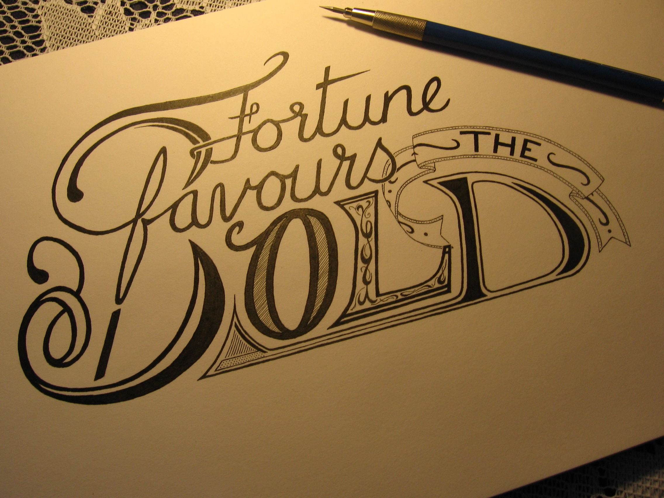Essay On Fortune Favors The Bold the