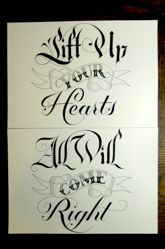 Lift Up Your Hearts, All Will Come Right