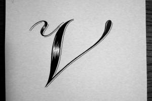 Dropcap V