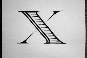 Dropcap X