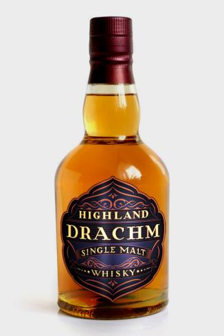 Highland Drachm Bottle Branding