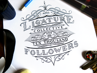 Ligature Collective Ten Thousand Followers Blog Upload