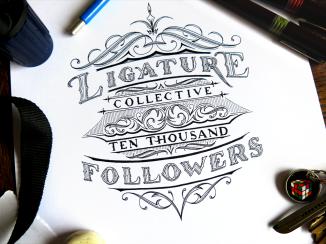 Ligature Collective Ten Thousand Followers