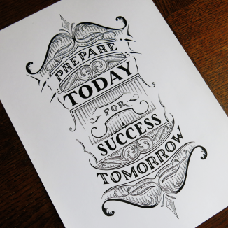 Prepare Today for Success Tomorrow