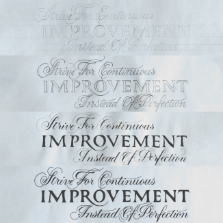 Strive For Continuous Improvement Process