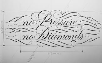 No Pressure No Diamonds Measurements