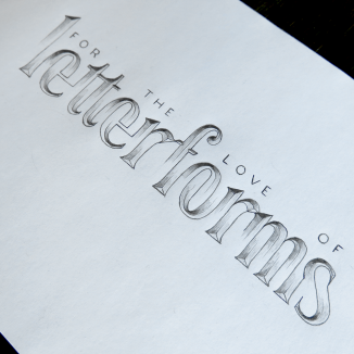 For the Love of Letterforms Illusion