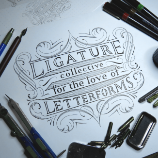 For the Love of Letterforms Ornate
